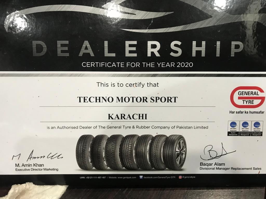 General Tyre Dealer Karachi